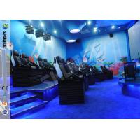 Best Customized 5D Movie Theater Ocean park 5D Motion Cinema Arc Screen Luxury Chairs  Movies wholesale