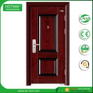 Best latest main gate designs india security metal door for front doors wholesale