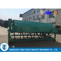 Best Waste Processing Compost Turner Food 5 - 8 Tons Per Hour Capacity Carbon Steel Made wholesale