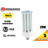 Quality Warm White Color IP65 Waterproof E26 E27 LED Corn Light Bulb 28W with 5 years warranty wholesale