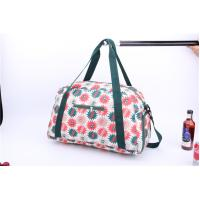 Best New style light weigh weekender bag with beautiful flower printing wholesale