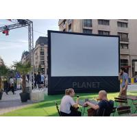 Best Advertising Blow Up Projector Screen PLAD-158 CE / UL Certificate Blower wholesale