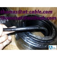 Best RG11 Jelly CATV Coaxial Cable 14AWG CCS21% waterproof 1000ft wooden drum wholesale