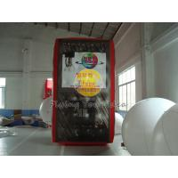 Best 3.5*2*2m inflatable cube balloon with six sides digital printing for Celebration day wholesale