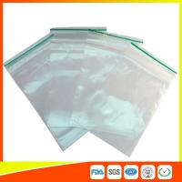 Best LDPE Plastic Packing Ziplock Bags For Electronic Parts , Zippered Bags For Storage wholesale