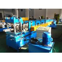 Cheap Heavy Duty Upright Roll Forming Machine , Warehouse Storage System Rack Rolling Machine for sale