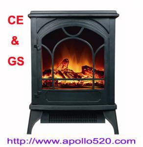 Best Floor Standing Electric Fireplace in black wholesale