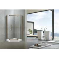 China Stainless Steel Pivot Shower Doors  Tempered Glass Nano Self - Cleaning Swing for Home on sale