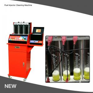 Best Ultrasonic 100W 8 Cylinder Fuel Injector Cleaning Machine 240V 0.6Mpa wholesale