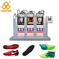 Best 3 Stations 6 injectors TPU Football Sole Making Machine 70-100 Pairs Per Hour wholesale