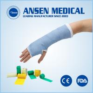 Best Disposable Orthopedic Waterproof Polyurethane Leg Cast Medical Korea Material Fiberglass Cast for Dog Pet  Horse wholesale