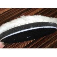 Best Eco Friendly Hard Genuine Wool Polishing Pad Round Shape For Car Care wholesale