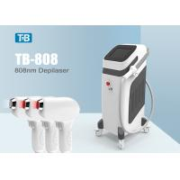 Buy cheap 10 Million Shots 808nm Diode Laser Hair Removal Machine Triple Wavelength 12 Laser Barrs from wholesalers
