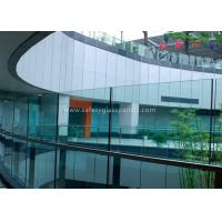 Quality 6mm Safety Glass fencing Tempered Laminated Glass for Pool Fence Glass Railing wholesale
