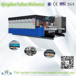 China Hot Sale Flexo Rotary Die Cutting Printing Slotting Machine (Stacking) on sale