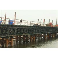 Quality Prefabricated Steel Suspension Bridge Reuse Temporary Bridge Bailey Steel Bridge wholesale
