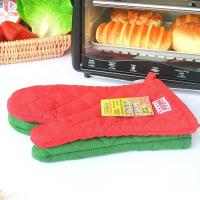 Best Eco Friendly Customized Heat Resistant Kitchen Gloves With Logo Embroidery wholesale