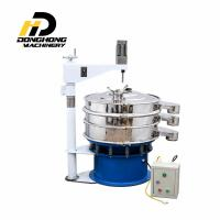 Best round vibrating screen for food powder and chmical powder wholesale