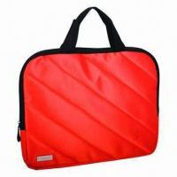 Promotional Laptop Bag, Made of Nylon Twill and PU