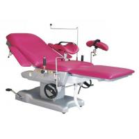 China Medical Gynecological Anti Rust Steel Structure Hydraulic Obstetrics Table on sale