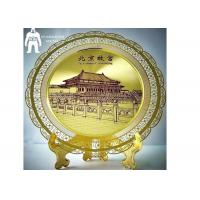 Best Artwork Souvenir Metal Gold Medal  Silver Plated Furnishing Home Decoration wholesale