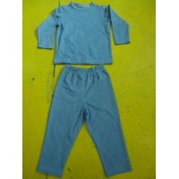 Best Solid Colors Children'S Cotton Pajamas Simple Boys Two Piece Pajamas Lightweight wholesale