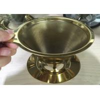 Best Espresso Grind Stainless Steel Filter , Flavored Kone Pour Over Coffee Filter wholesale