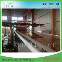 China Plastic PVC Sheet Extrusion Line For Stone Coating Sheet / Board 1220 Model on sale