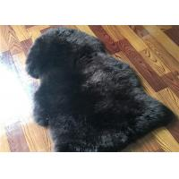 Best Real Sheepskin Rug Long lambswool Double Pelts Sheep Skin Hides for hotel lobby wholesale
