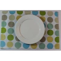 Best Blue Dot Dining Table Mats Custom Printed Placemats For Adults wholesale