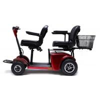 Best Two seats Electric Mobility Travel Scooter For Elder , Handicapped Folding Electric scooter wholesale