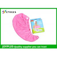 Best Various Colors Hair Drying Towel Wrap , Quick Dry Hair Towels 250GSMg wholesale