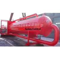 Well drilling mud gas separator