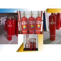 Heptafluoropropane fire suppression