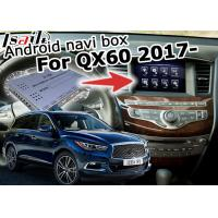 Buy cheap Infiniti QX60 GPS Android Car Navigation System Multimedia Interface Android from wholesalers