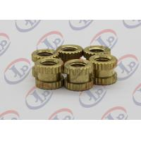 Buy cheap Lathe Machining Small Metal Parts , M2.5-M10 Small Knurled Plastic Inserts from wholesalers