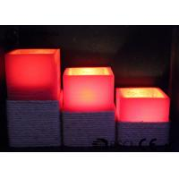 Best Warm White Electric Led Candles Set Of 3 Paraffin Material EL-016 wholesale