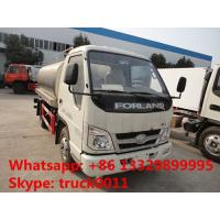 forland 5,000L milk tank truck for sale, hot sale stainless steel liquid food tank truck