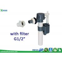 "Best Compact Design Side Entry Fill Valve Plastic Inlet With External Filter G1/2"" wholesale"