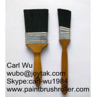 China Natural bristle Chinese bristle synthetic mix 2 piece paint brush sets wood handle plastic handle 2 inch PBS-000 on sale