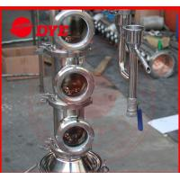 Best Tri-Clamp Micro Copper Ethanol Distillation Column Sight Glass wholesale