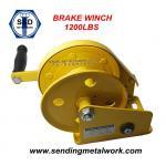 Quality Hand Winch 1200lbs Trailer Winch Boat Winch Brake Winch wholesale