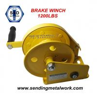 Quality Hand Winch 1200lbs Trailer Winch Boat Winch Brake Winch wholesale