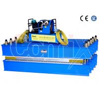 Quality Rubber Conveyor Belt Vulcanizing Press Portable For 1200mm Belt Width Hot Splicing wholesale