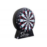 Best Giant inflatable soccer dart board with stand made with pvc tarpaulin material wholesale