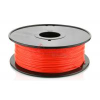Cheap 3D Printer 3mm PLA Filament Red  High Stiffness 1kg Spool , recycle 3d printer filament for sale