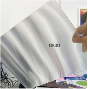 Best Supply Lenticular sheet material 100lpi 0.35mm /0.58mm lens sheet plastic lenticular for 3d lenticular printing Vietnam wholesale