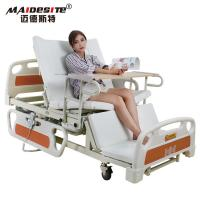 Best Healthcare Back Lift And Leg Rest , Turn Over Electric Home Beds With Toilet wholesale