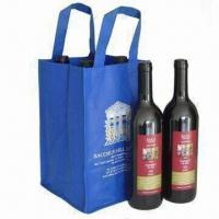 Best 2012 New Design PP Nonwoven Wine Gift Bag, Suitable for Promotional, Gift and Shopping Purposes wholesale