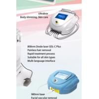 Best Portable Ultrasound Fat Reduction Machine With Radio Frequency Cavitation wholesale